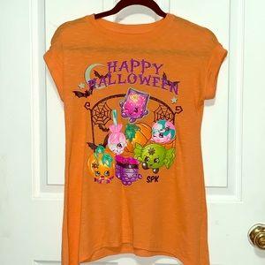Big girl's Shopkins Halloween shirt